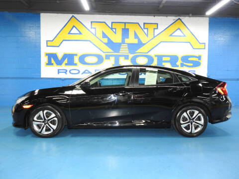 2018 Honda Civic for sale at ANNA MOTORS, INC. in Detroit MI