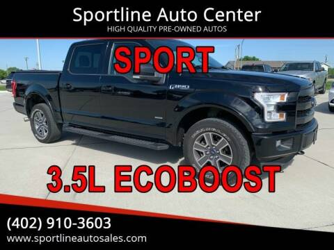 2017 Ford F-150 for sale at Sportline Auto Center in Columbus NE
