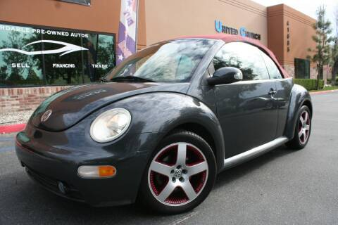 2005 Volkswagen New Beetle Convertible for sale at CK Motors in Murrieta CA
