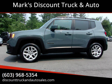 2017 Jeep Renegade for sale at Mark's Discount Truck & Auto in Londonderry NH