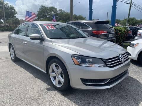 2014 Volkswagen Passat for sale at AUTO PROVIDER in Fort Lauderdale FL