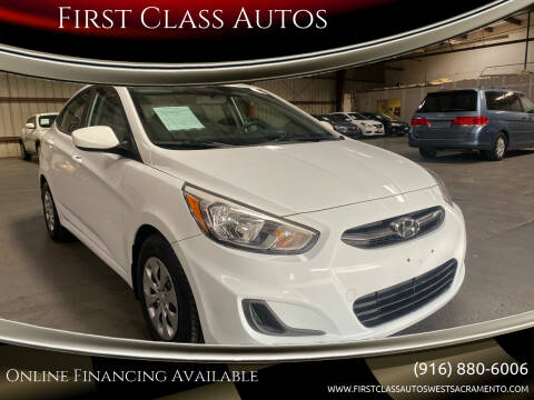 2016 Hyundai Accent for sale at Car Source Center in West Sacramento CA