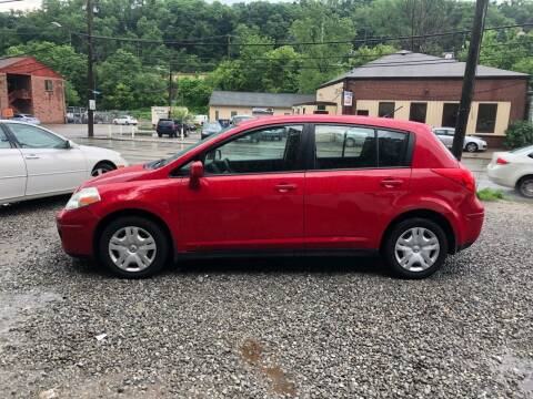2010 Nissan Versa for sale at Compact Cars of Pittsburgh in Pittsburgh PA