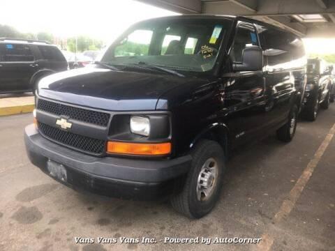 2006 Chevrolet Express Cargo for sale at Vans Vans Vans INC in Blauvelt NY