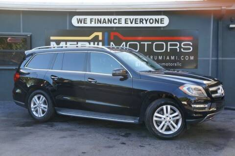 2014 Mercedes-Benz GL-Class for sale at Meru Motors in Hollywood FL