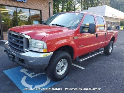 2004 Ford F-350 Super Duty for sale at Michael D Stout in Cumming GA