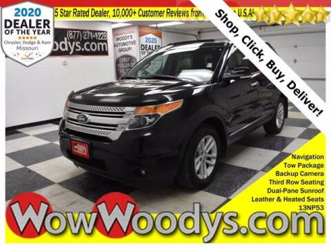 2013 Ford Explorer for sale at WOODY'S AUTOMOTIVE GROUP in Chillicothe MO