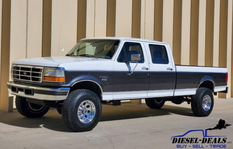 1995 Ford F-350 for sale at DIESEL DEALS in Salt Lake City UT