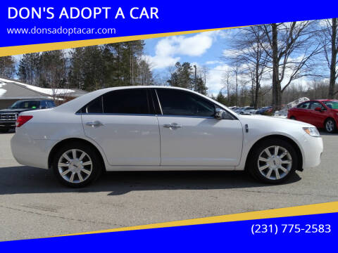 2011 Lincoln MKZ for sale at DON'S ADOPT A CAR in Cadillac MI