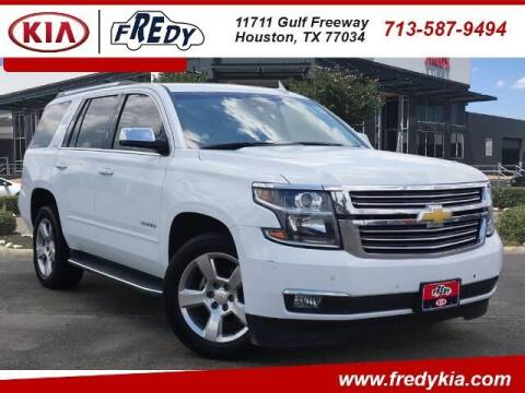 2016 Chevrolet Tahoe for sale at FREDY USED CAR SALES in Houston TX
