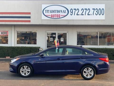 2013 Hyundai Sonata for sale at Traditional Autos in Dallas TX