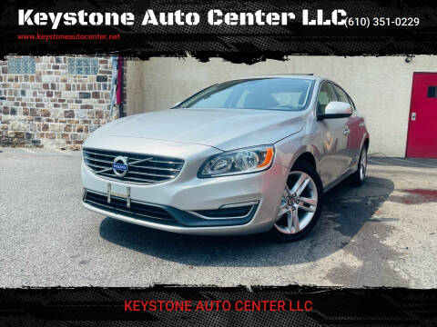 2015 Volvo S60 for sale at Keystone Auto Center LLC in Allentown PA
