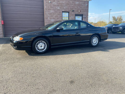 2001 Chevrolet Monte Carlo for sale at CarNu  Sales in Warminster PA