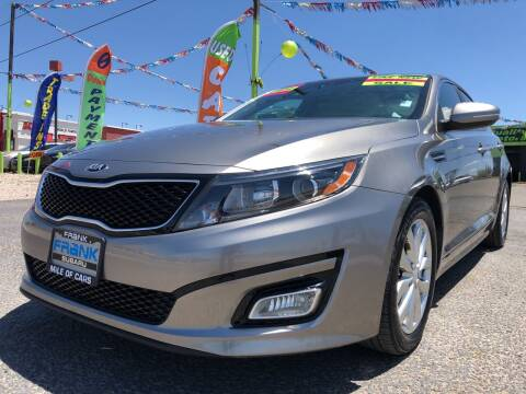 2014 Kia Optima for sale at 1st Quality Motors LLC in Gallup NM