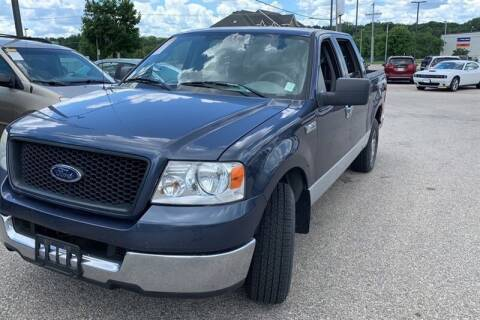 2005 Ford F-150 for sale at MICHAEL J'S AUTO SALES in Cleves OH