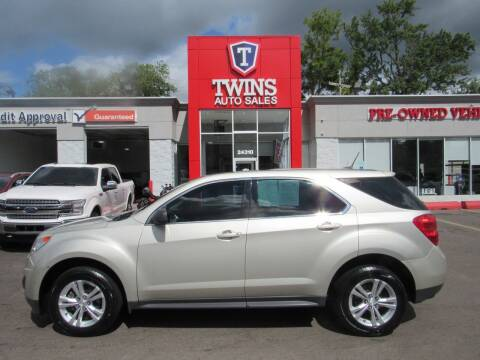2014 Chevrolet Equinox for sale at Twins Auto Sales Inc in Detroit MI