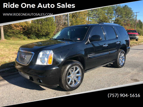 2008 GMC Yukon for sale at Ride One Auto Sales in Norfolk VA