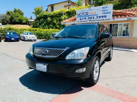 2007 Lexus RX 350 for sale at MotorMax in Lemon Grove CA