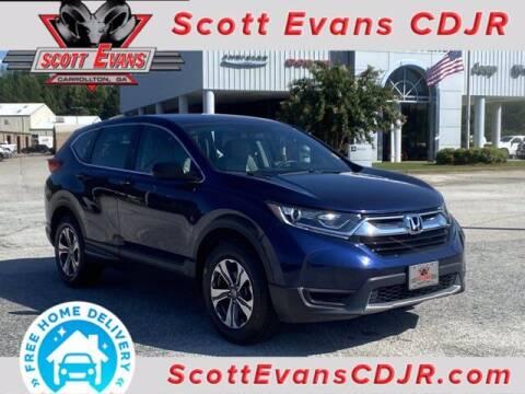 2018 Honda CR-V for sale at SCOTT EVANS CHRYSLER DODGE in Carrollton GA