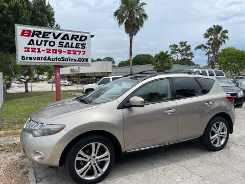 2009 Nissan Murano for sale at Brevard Auto Sales in Palm Bay FL