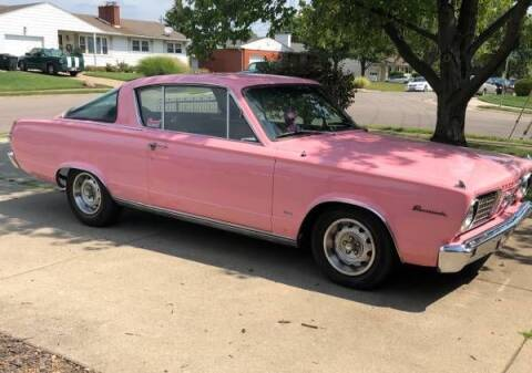 1966 Plymouth Barracuda for sale at Classic Car Deals in Cadillac MI