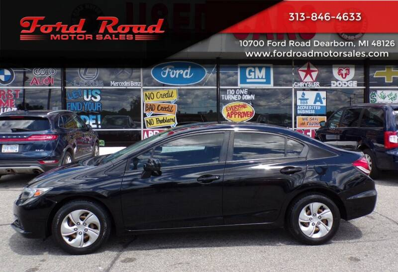 2015 Honda Civic for sale at Ford Road Motor Sales in Dearborn MI