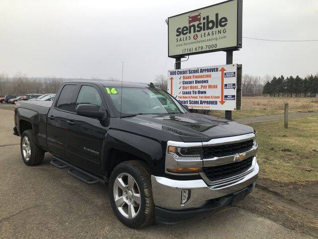 2016 Chevrolet Silverado 1500 for sale at Sensible Sales & Leasing in Fredonia NY