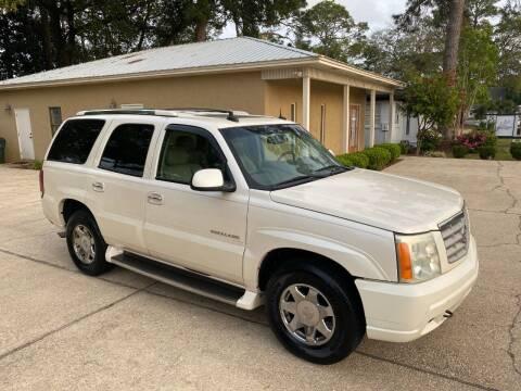 2003 Cadillac Escalade for sale at Asap Motors Inc in Fort Walton Beach FL