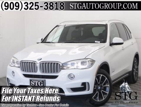 2017 BMW X5 for sale at STG Auto Group in Montclair CA