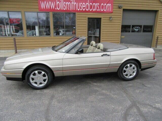 1992 Cadillac Allante for sale at Bill Smith Used Cars in Muskegon MI