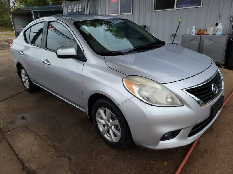 2012 Nissan Versa for sale at QUICK SALE AUTO in Mineola TX