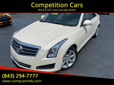 2013 Cadillac ATS for sale at Competition Cars in Myrtle Beach SC