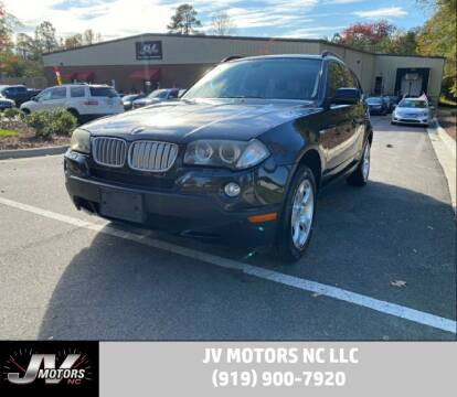 2008 BMW X3 for sale at JV Motors NC LLC in Raleigh NC