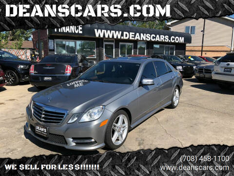 2013 Mercedes-Benz E-Class for sale at DEANSCARS.COM in Bridgeview IL