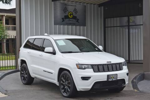 2018 Jeep Grand Cherokee for sale at G MOTORS in Houston TX