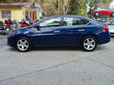 2017 Nissan Sentra for sale at VANS CARS AND TRUCKS in Brooksville FL