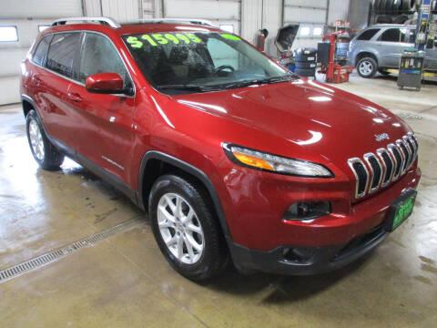 2014 Jeep Cherokee for sale at Granite Auto Sales in Redgranite WI