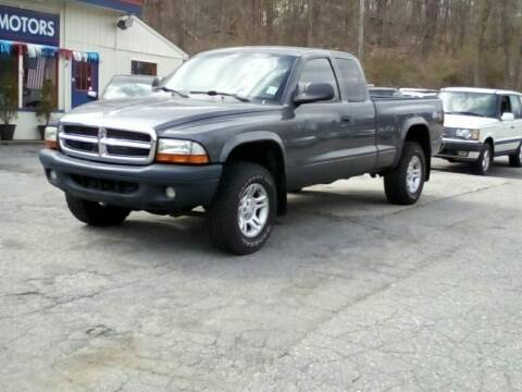 2004 Dodge Dakota for sale at Rooney Motors in Pawling NY