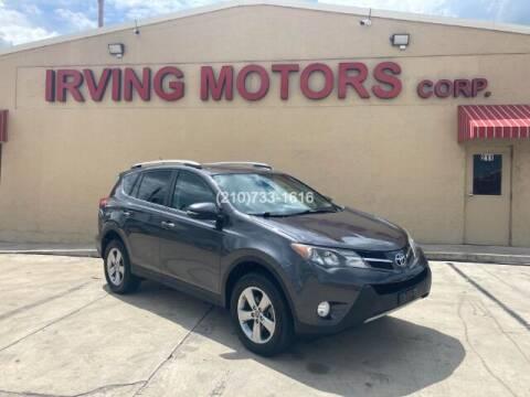 2015 Toyota RAV4 for sale at Irving Motors Corp in San Antonio TX