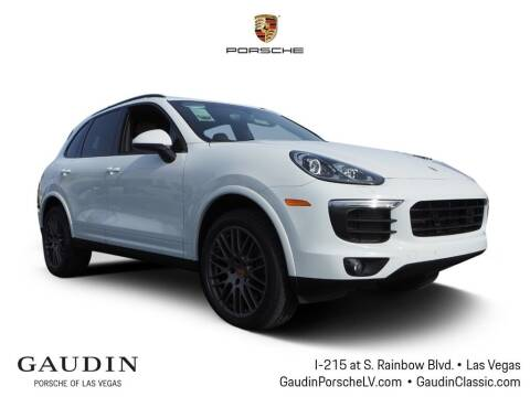 2018 Porsche Cayenne for sale at Gaudin Porsche in Las Vegas NV