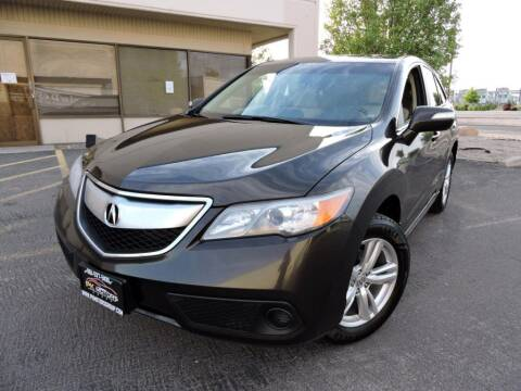 2015 Acura RDX for sale at PK MOTORS GROUP in Las Vegas NV