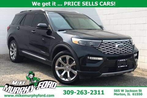 2020 Ford Explorer for sale at Mike Murphy Ford in Morton IL