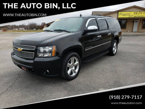 2012 Chevrolet Suburban for sale at THE AUTO BIN, LLC in Broken Arrow OK