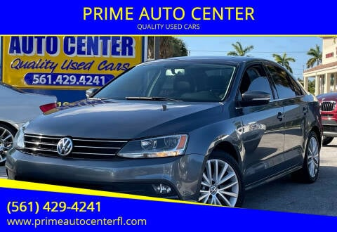 2015 Volkswagen Jetta for sale at PRIME AUTO CENTER in Palm Springs FL