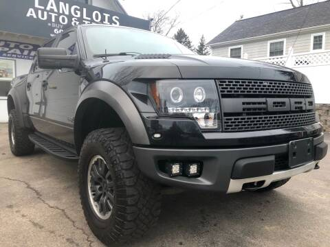 2011 Ford F-150 for sale at Langlois Auto and Truck LLC in Kingston NH