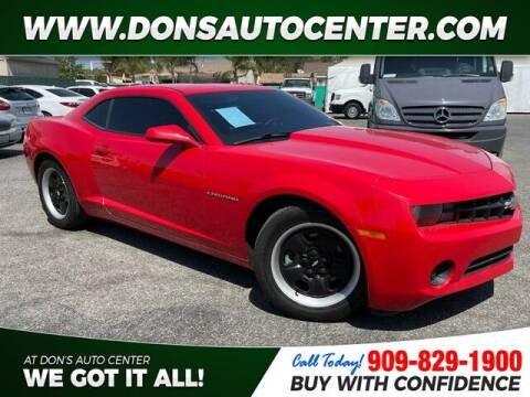 2013 Chevrolet Camaro for sale at Dons Auto Center in Fontana CA