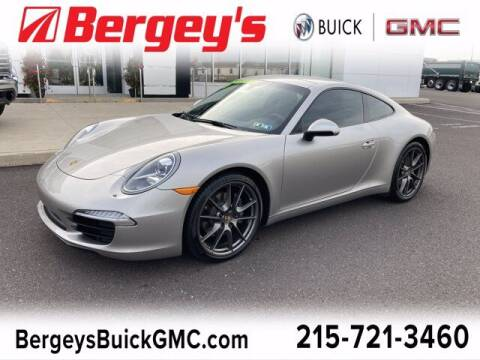 2013 Porsche 911 for sale at Bergey's Buick GMC in Souderton PA