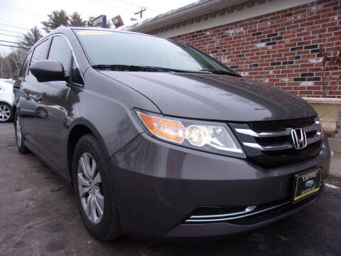 2014 Honda Odyssey for sale at Certified Motorcars LLC in Franklin NH