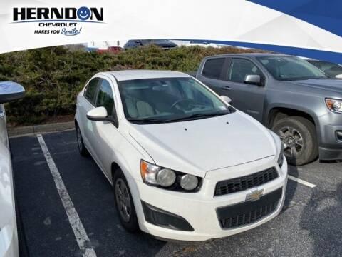 2015 Chevrolet Sonic for sale at Herndon Chevrolet in Lexington SC