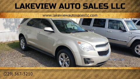 2013 Chevrolet Equinox for sale at Lakeview Auto Sales LLC in Sycamore GA